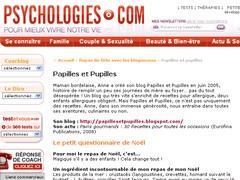 Psychologie - 24 décembre 2008