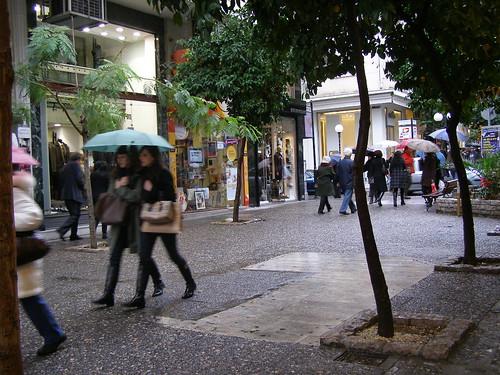 Sotiros Dios street, Christmas 2008