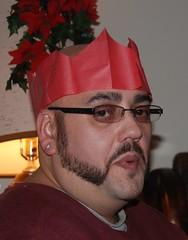 I'm Having a Merry Christmas... (FOTOGRAFIA.Nelo.Esteves) Tags: selfportrait me beautiful wonderful glasses fantastic nikon kiss great excellent crown 2008 18200mm d80 neloesteves