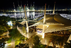 The New Year Countdown. Venue: Marina Bay, Sin...