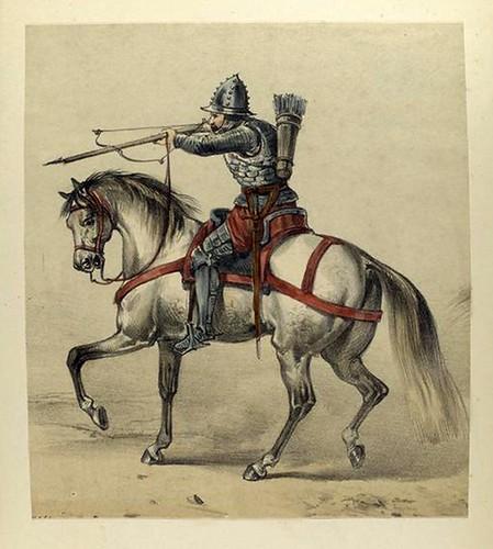 009-Ballestero a caballo año 1400