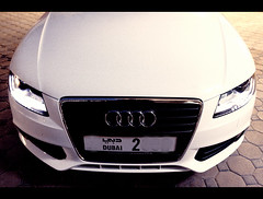 Happy New Year (2009) (Nazza3a ( NAzNaZ..... )) Tags: new 2 white happy year plate number audi 2009 quattro