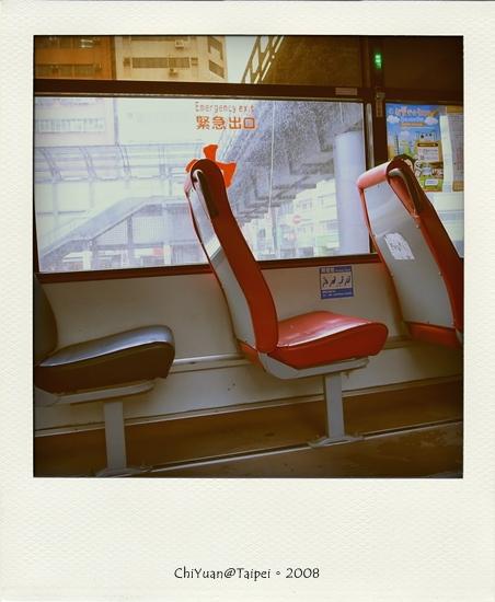 Photo雨中公車