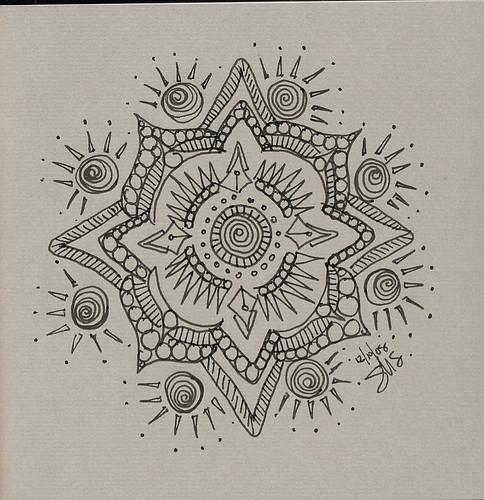 Pitt Pen Mandala