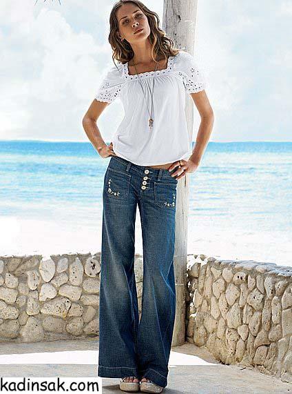 bayan kot pantalon modelleri