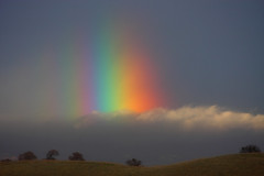 early morning rainbow (Marc Crumpler (Ilikethenight)) Tags: california morning usa clouds sunrise canon landscape rainbow hiking trails hills bayarea eastbay antioch blackdiamond ebrpd contracostacounty eastbayregionalparkdistrict canon70300isusm sfchronicle96hours 40d ebparks canon40d dailyrayofhope ebparksok