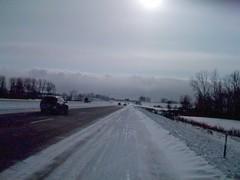 Stuck on I-96