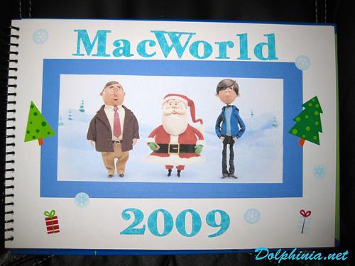Macworld 2009 Scrapbook