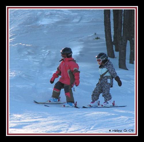 Ecole De Neige. École de ski -3- Tu me suis ma belle ?
