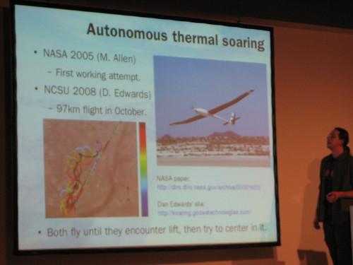 Hacking the atmosphere: Autonomous soaring