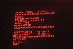 Massive Attack - 7th May 2003 - Intersport Arena, Linz, Austria (RichardPC) Tags: attack massive