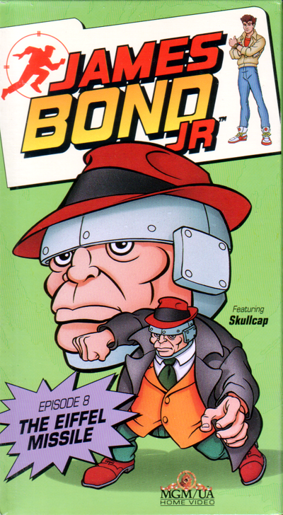 James Bond Jr Vol 8