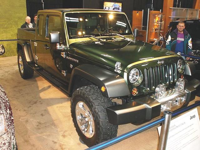 truck jeep chrysler gladiator jeepgladiator conceptvehicle utilitytruck