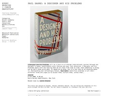 A DESIGNER AND HIS PROBLEMS_1232066220590