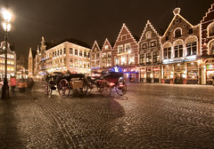 Markt in Brugge (Another OliK) Tags: street city longexposure night belgium brugge bruges markt