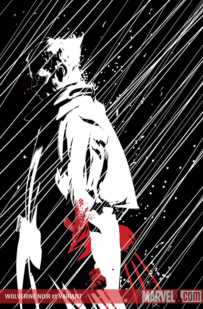 And check out the variant cover by Dennis Calero, artist of X-MEN NOIR: