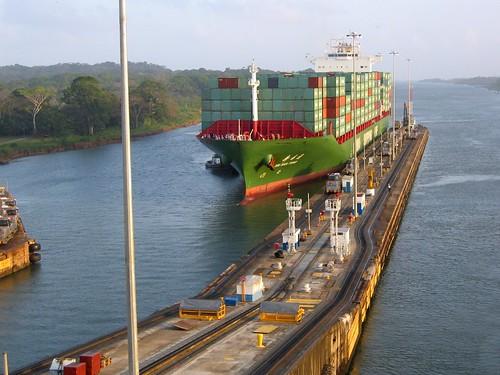 Panama canal by pasujoba.