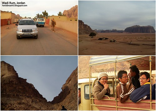 Wadi Rum Collage