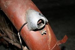 Broken taillight