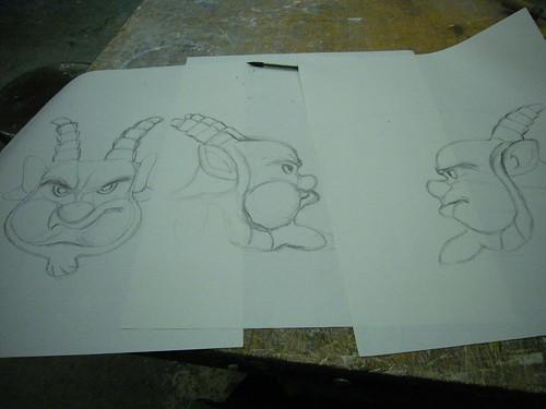 santana drawings