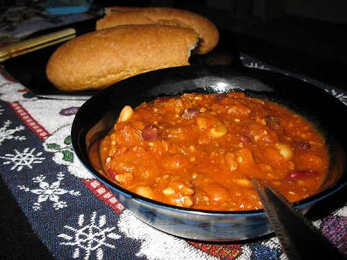 Crockpot Chili - Recipe Included