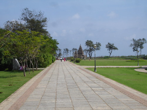 Path to the shore temple