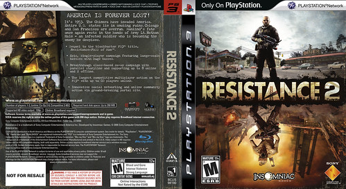 Resistance 2 Cover 2