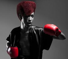 Raging Bulls - Coleo Neandro Inverno 2009 (Andr-Batista) Tags: fashion cutout hair moda hiphop boxing mode ragingbull gracejones hairstyling neandro