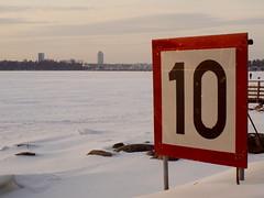 Winter sea view (blaahhi) Tags: winter helsinki lauttasaari wintersea maredinverno leicaelmaritr35mmf28 panasoniclumixg1