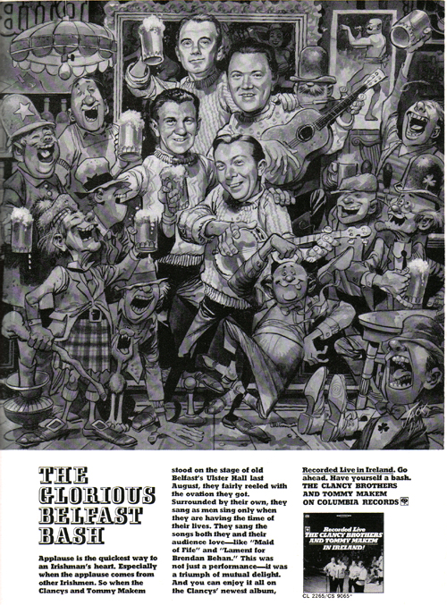 Vintage Ad #800: The Glorious Belfast Bash, Jack Davis Style