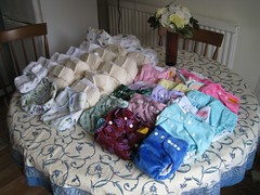 Cloth nappies (Kaustav Bhattacharya) Tags: baby nappy diaper nappies clothnappies clothdiapers fuzzibuns motherease totbots bumgenius littlelambs ecobaby 77285mm babyessentials environmentallyconsciousdecisions ittibittidlish rikkiwraps