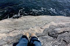 (natalie harding) Tags: beach me water self canon rebel rocks jeans natalie xsi moccasins ocb iphotooriginal canonrebelxsi