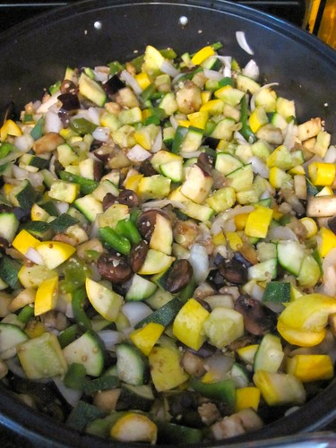 Making Spicy Vegetable Curry