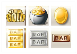 free Strike Gold slot game symbols
