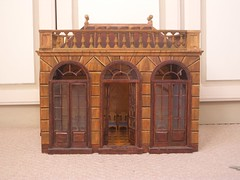 Orangery (Sweetington) Tags: miniatures dolls ballroom classical decor 18thcentury playmobil balustrade marquetry orangery dollshouse panelling paintedfurniture woodinlay sidford timsidford wwwtimsidfordcom