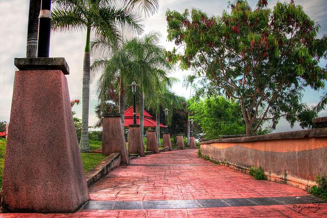HDR Denai larian di Kuala Perlis