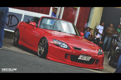 s2k (Abraham Esmurdoc) Tags: street red cars speed honda photography dominican low fast headlights racing rims s2k s2000 stance speedhunters stancenation
