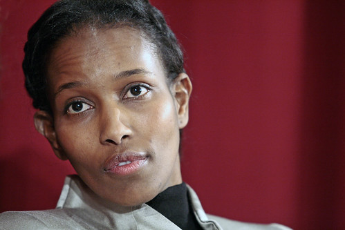 Ayaan Hirsi Ali @ Normal Sup'