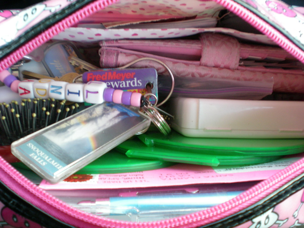 Inside my purse.