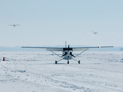 C-FBEK 23-fe-08-DSC_5714f (djipibi) Tags: winter snow ice river maurice aviation hiver ottawa rivire mo neige rendezvous flyin glace rva arien outaouais luskville prudhomme chezmo