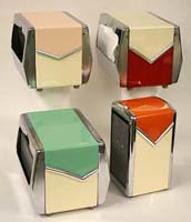 "restored diner napkin dispensers SOLD • <a style=""font-size:0.8em;"" href=""http://www.flickr.com/photos/85572005@N00/2311260659/"" target=""_blank"">View on Flickr</a>"