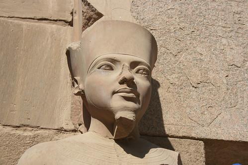 Statue at Karnak