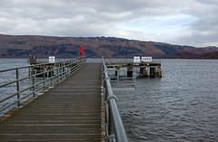 Luss Pier (Gordon McKinlay) Tags: water scotland pier loch lochlomond luss lusspier