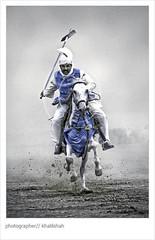 Gladiator (khalilshah) Tags: show blue pakistan dark nikon focus power tent dirt turban dust punjab hore rider vr gladiator 18200mm faisalabad pegging d80 tentpegging aplusphoto excapture