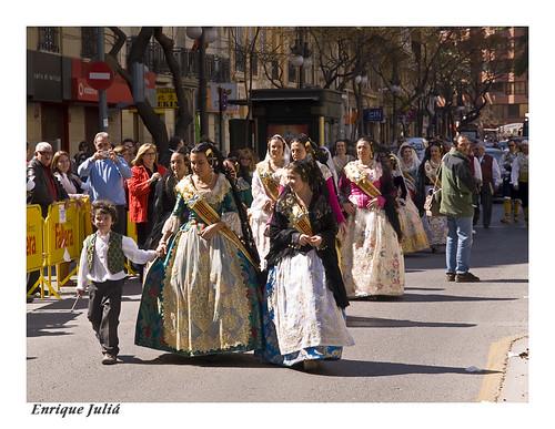 Las Fallas IV. El pasacalle 1 por Enrique JM..