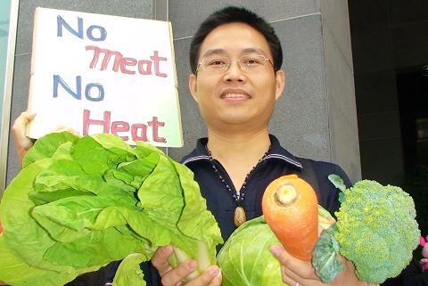 素食可以對抗全球暖化