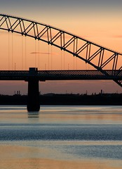 Runcorn Bridge (Our Vale) Tags: runcornbridge silverjubileebridge runcornwidnesbridge