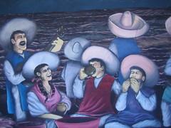 Taco House Mural by Rigel Sauri