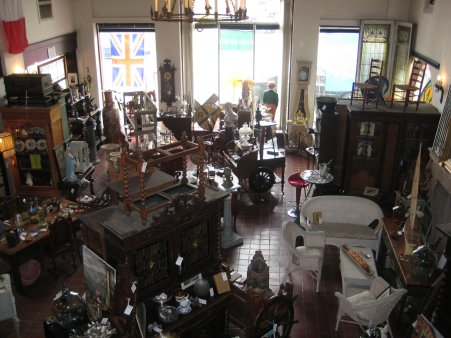 Day 2 - Petersburg Antique Shop - View from Second Floor