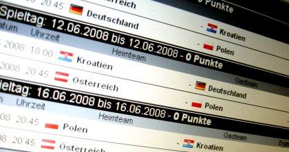 Fußball EM Tippspiel 2008
